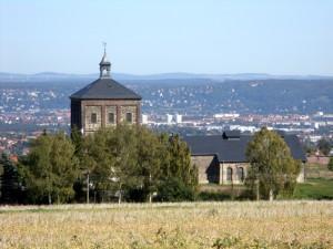 Blick nach Dresden